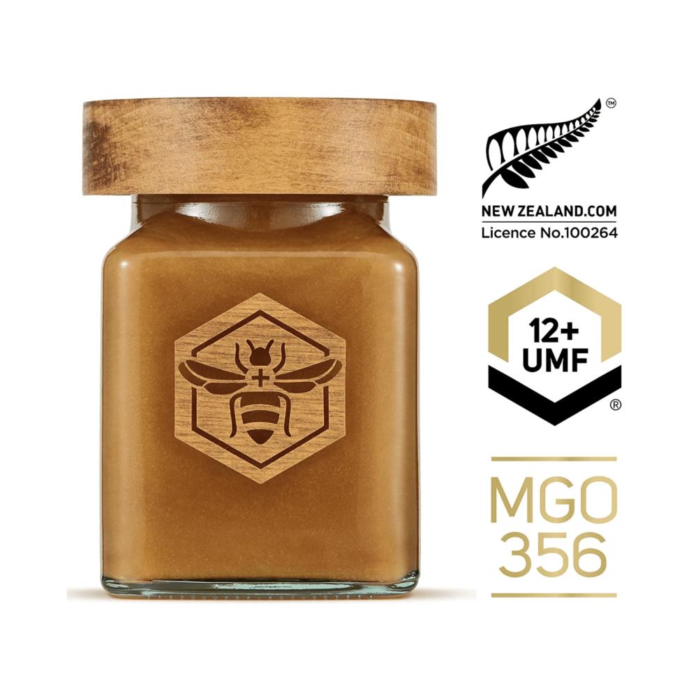 Miere de Manuka Premium Manuka South ®, UMF®12+(MGO 356+), 250gr