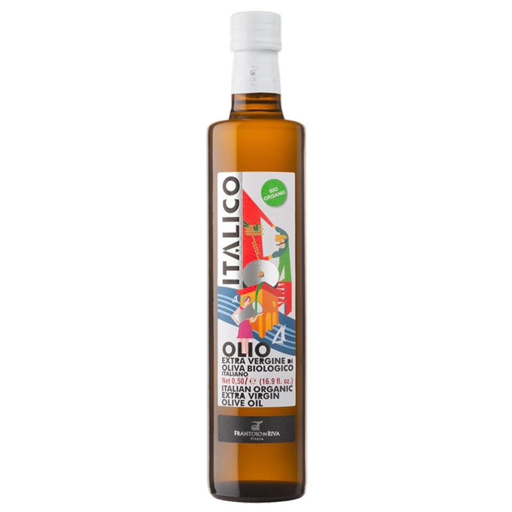 Ulei Extravirgin de Masline, 100% Italian, Italico Bio-Agraria Riva del Garda, Eco, 750ml