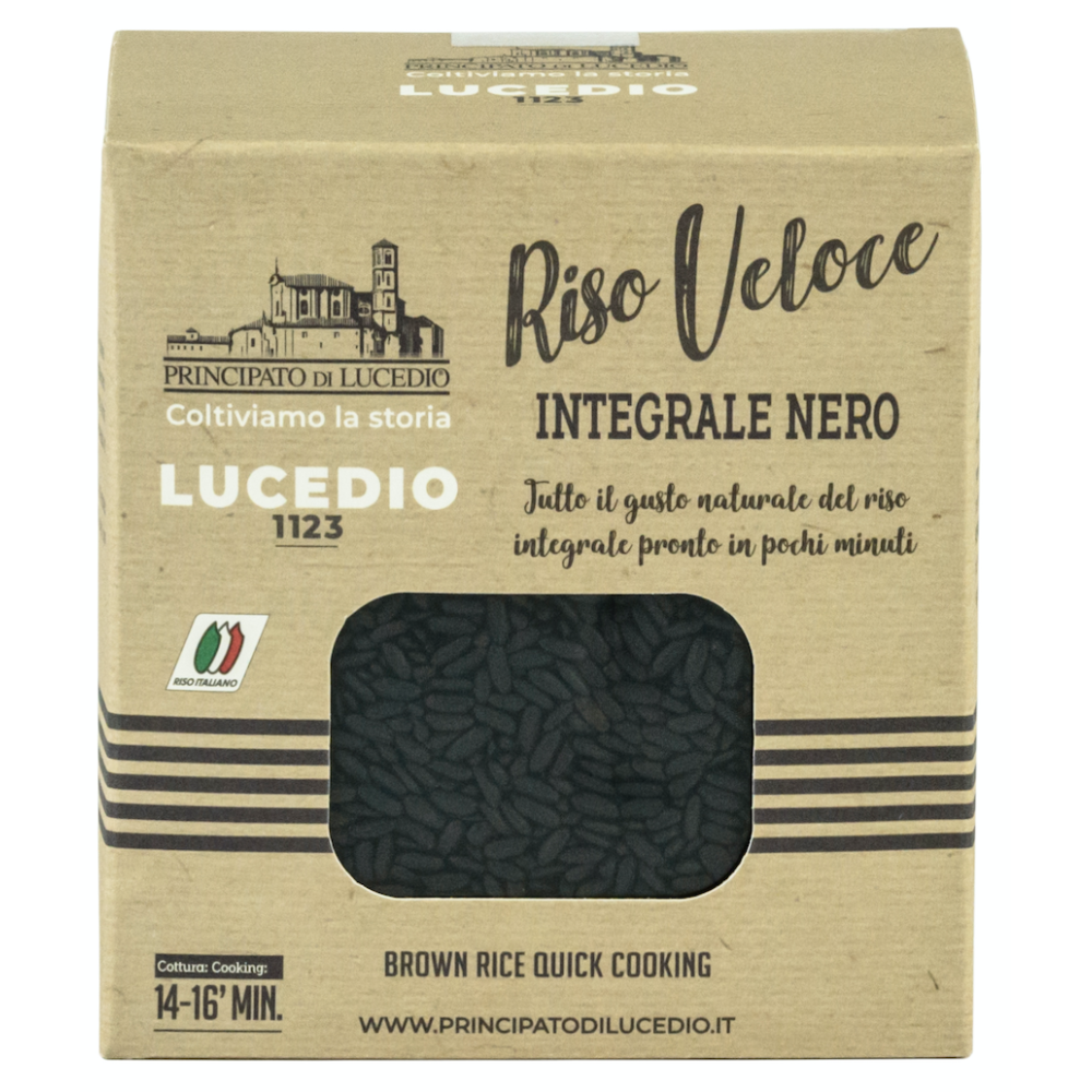 Orez Integral Negru Prefiert, Principato di Lucedio, 500 gr