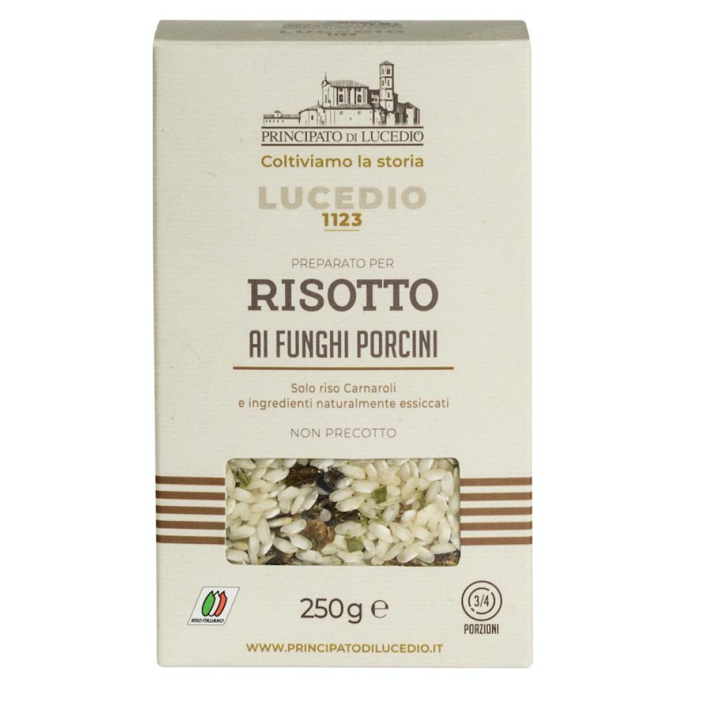 Risotto cu Ciuperci Porcini, Principato di Lucedio, 250 gr