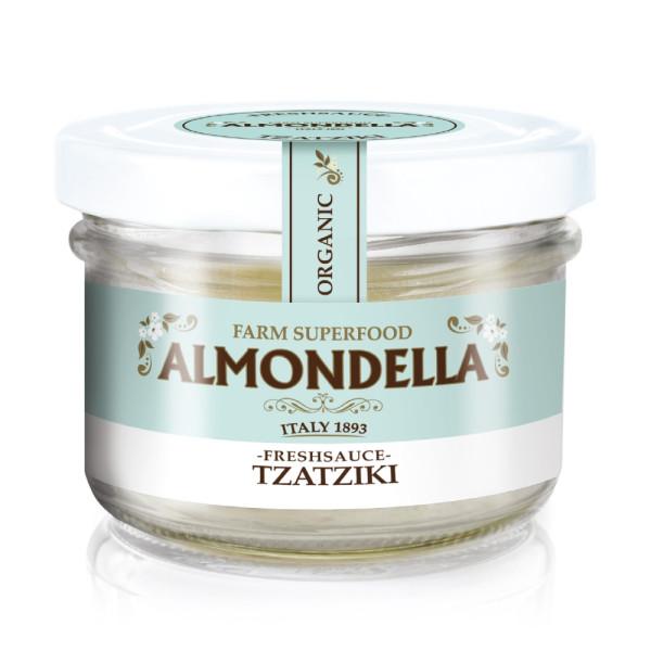 Crema Tartinabila din Migdale cu Tzatziki, Fara Gluten, Fara Lactoza,  Almodella, Eco, 180 gr