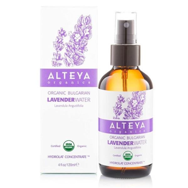 Apa de Lavanda Lavandula Augustifolia 100% Naturala, Alteya Organics, Eco, 120 ml