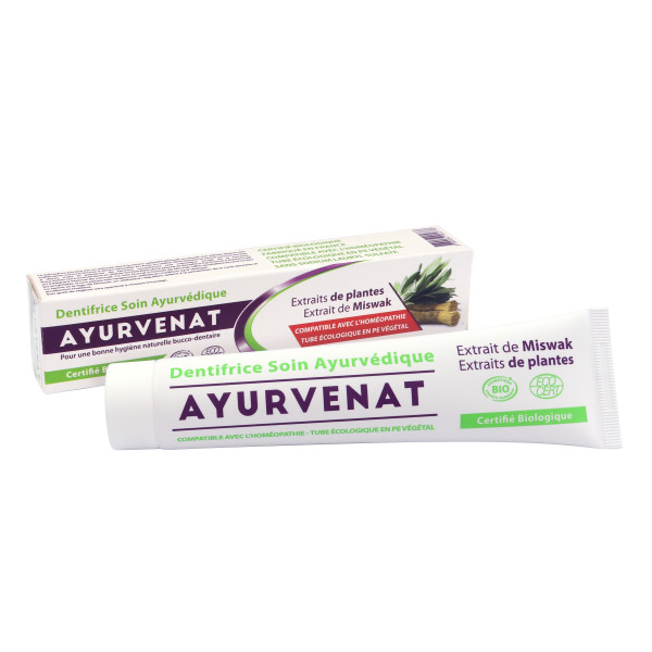 Pasta de Dinti cu Miswak, Ayurvenat, Eco, 75 ml