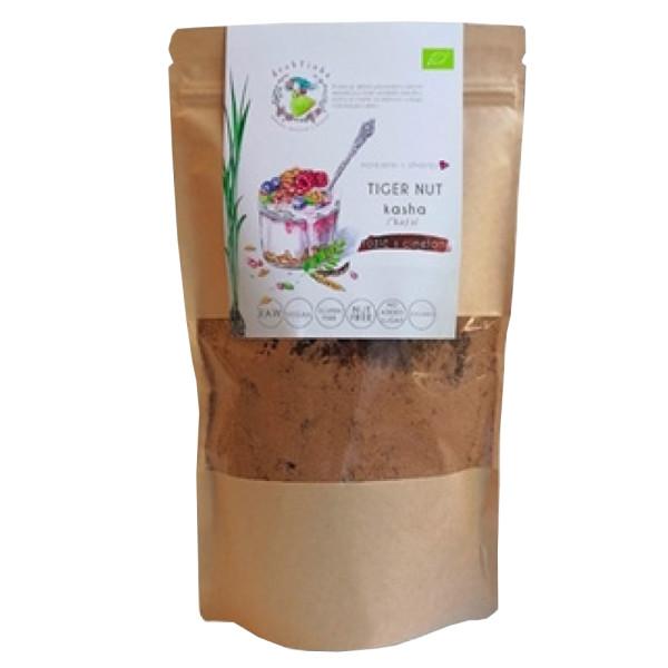 Kasha Raw din Tigernut cu Carob, Fara Gluten, Tigernut Kasha, Eco, 300 gr