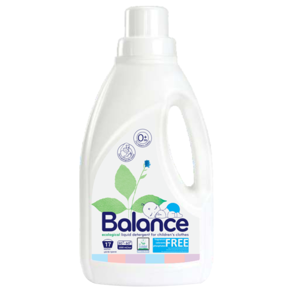 Detergent Ecologic pentru Haine de Copii, Lichid, Balance Ecological, 1L
