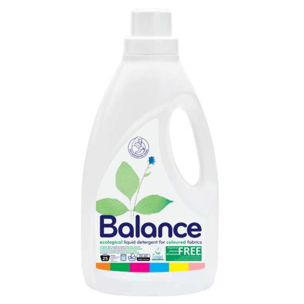 Detergent Ecologic pentru Haine Colorate, Lichid, Balance Ecological, 1,5 L