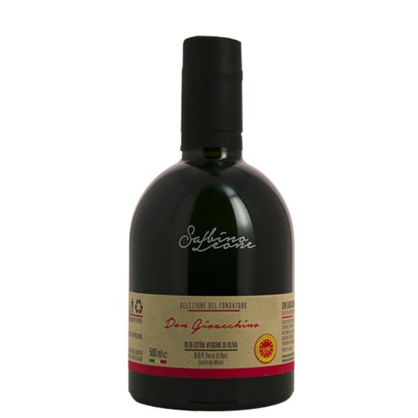 Ulei Extravirgin de Masline, 100% Italian, Don Gioacchino-Sabino Leone, D.O.P. Terra di Bari Castel del Monte, 500 ml