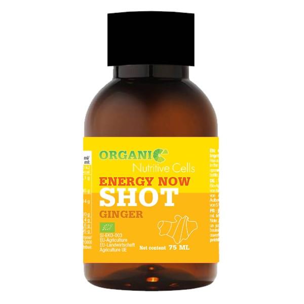 Shot pentru Imunitate cu Ghimbir 100% Natural, Nutritive Cells,  Eco, 75 ml