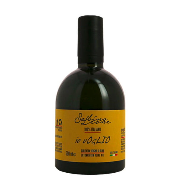 Ulei Extravirgin de Masline, 100% Italian, Io Voglio-Sabino Leone, 500 ml