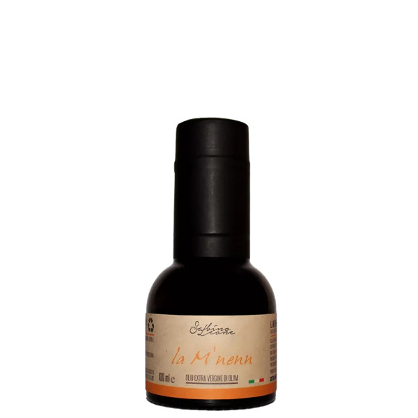 Ulei Extravirgin de Masline, 100% Italian, La M'NENN -Sabino Leone, Monocultivar Frantoio, 100 ml