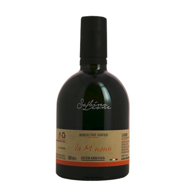 Ulei Extravirgin de Masline, 100% Italian, La M'NENN -Sabino Leone, Monocultivar Frantoio, 500 ml
