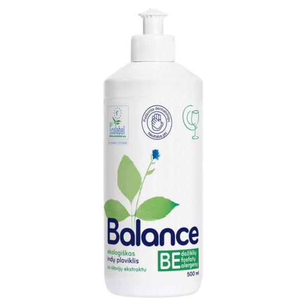 Detergent Ecologic pentru Vase cu Aloe Vera, Lichid, Balance Ecological, 500 ml