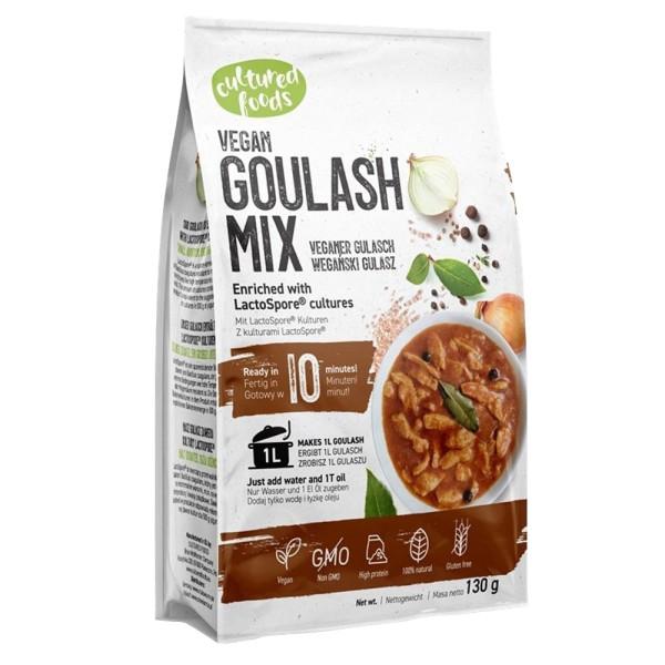 Mix pentru Gulas 100% de origine naturala, Fara gluten, Fara Lactoza, Cultured Foods, 130 gr