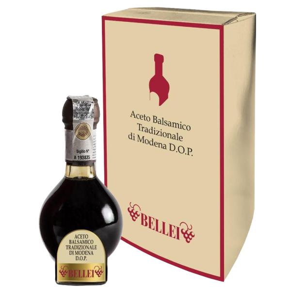 Otet Balsamic de Modena, Invechit cel putin 12 ani, Traditional D.O.P. -Bellei, 100 ml