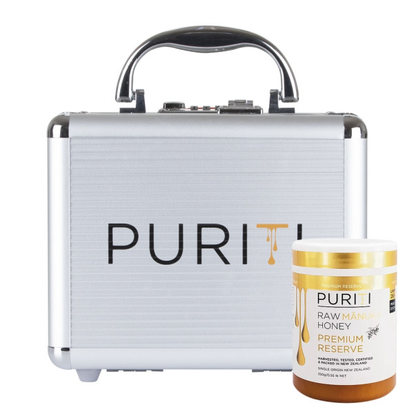 Miere de Manuka Raw Premium Puriti, Premium Reserve UMF®26+ (MGO 1300+), 250gr