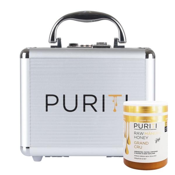 Miere de Manuka Raw Premium Puriti, Monoflorala, Certificata Grand Cru UMF®30+ (MGO 1622+), 250 gr