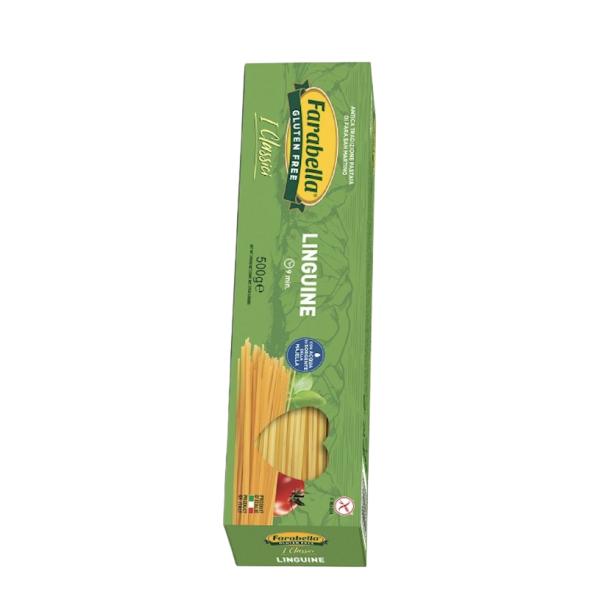 Paste fara Gluten Linguine, Farabella, 500 gr