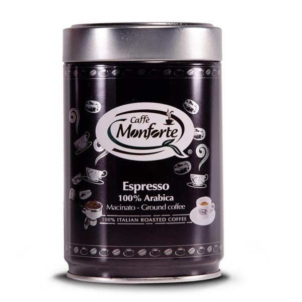 Cafea Espresso 100% Arabica Macinata, Monforte, 250 gr