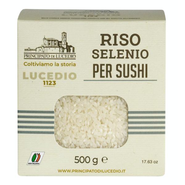 Orez Selenio pentru Sushi, Principato di Lucedio, 500 gr