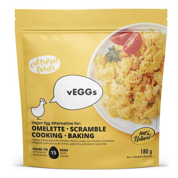 Inlocuitor Vegan pentru Omleta 100% Natural, fara Gluten, Veggs, 180 gr