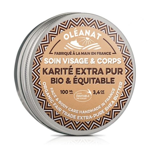 Unt de Shea Extra Pur, Oleanat, Eco, 100 ml