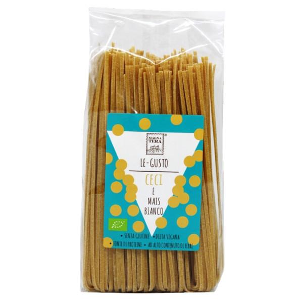 Paste Tagliolini din Porumb Alb si Naut, Pangea-Le Gusto, Fara Gluten, Eco, 250 gr