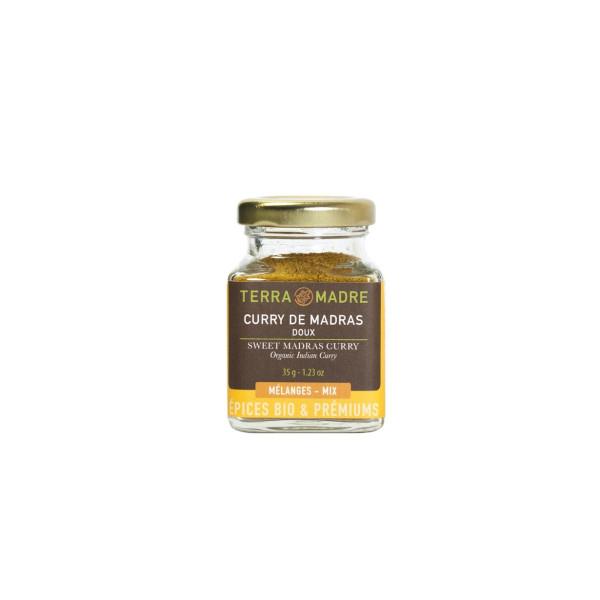 Curry Dulce de Madras, Terra Madre, Eco, 35 gr