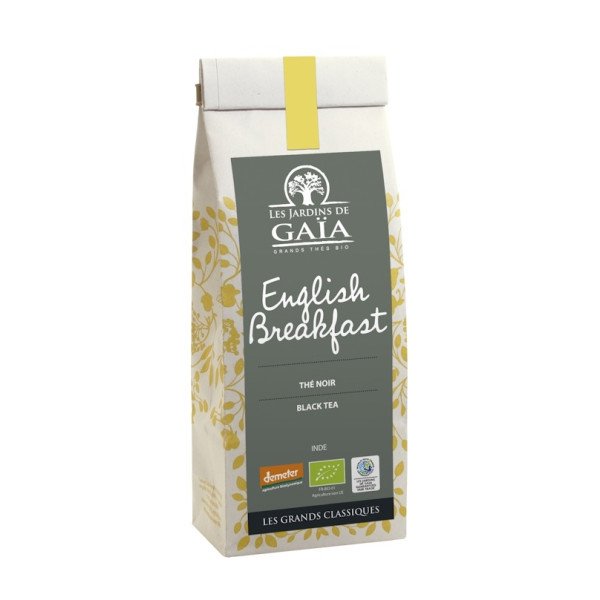 Ceai Negru English Breakfast, Le Jardin du Gaia,  Eco, Demeter, 100 gr