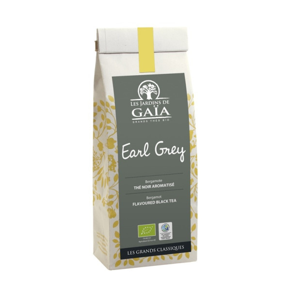 Ceai Negru Earl Grey, Les Jardins de Gaia, Eco, 100 gr