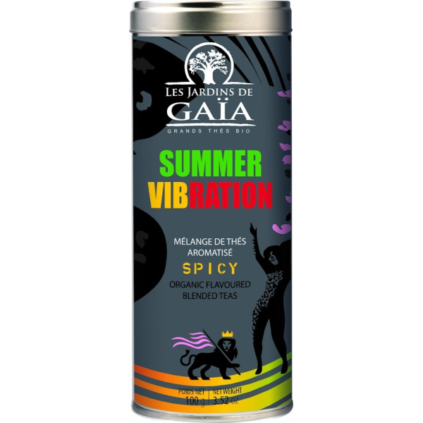 Ceai Negru Summer Vibration, Le Jardin du Gaia, Eco, 100 gr