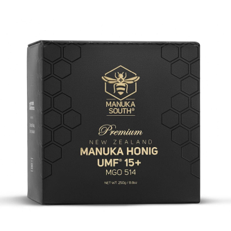 Miere de Manuka Premium Manuka South ®, UMF®15+(MGO 514+), 250g