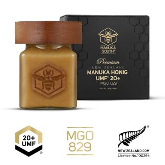 Miere de Manuka Premium Manuka South ®, UMF®20+(MGO 829+), 250g