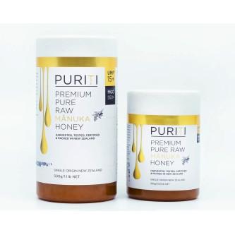 Miere de Manuka Raw Premium Puriti UMF®15+ (MGO 550+), 250gr