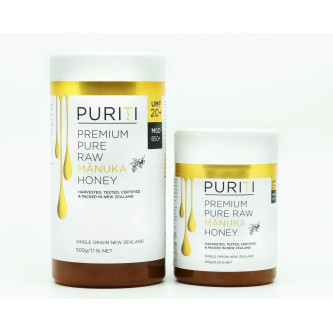 Miere de Manuka Raw Premium Puriti UMF®20+ (MGO 850+), 250gr